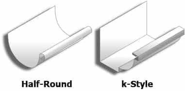 half round kstyle - Specialty Gutters
