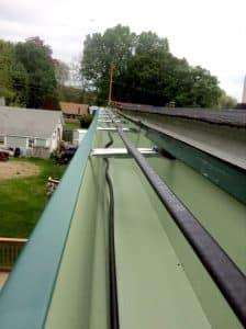 winter gutters season heat tape