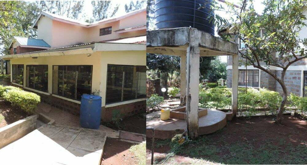 Kenaya Brazil house gutters