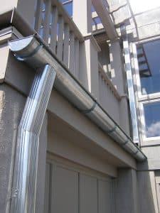 galvanized steel gutters
