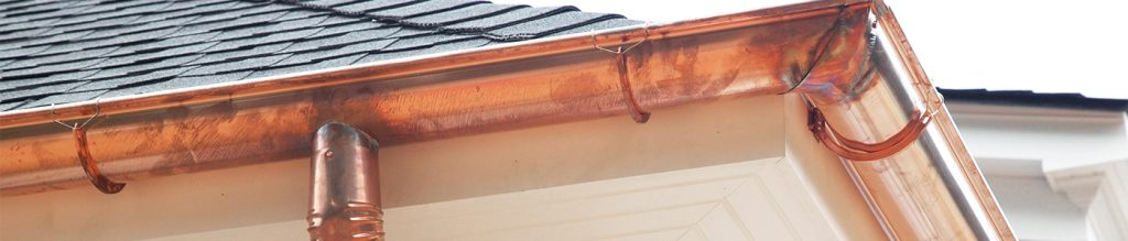 copper patina 2 1024x219 - What Is Copper Patina On Your Gutters?