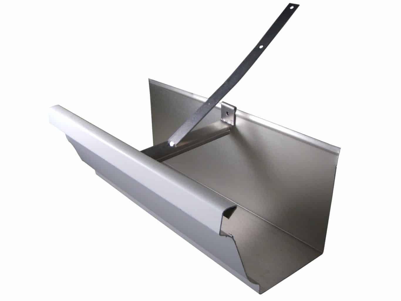 Roof Strapped Gutter